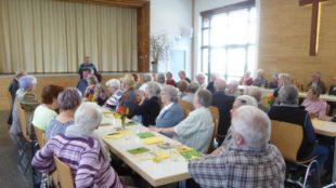 Frühlingsfest des Altenwerks Zell