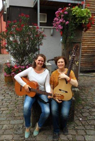 Städtlemarkt Zell a. H.: Live-Musik von Helena und Bettina