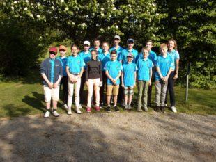 Golfjugend gewinnt ersten  Wettbewerb im Badenpokal