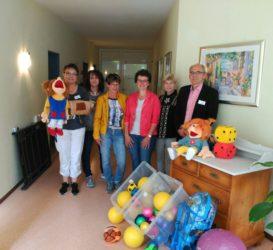 Pfarrgemeinde unterstützt die Heimpflege: