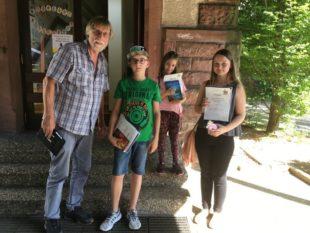 Zeller SBBZ Lernen erringt Platz 2 im Ortenauer Lesewettbewerb