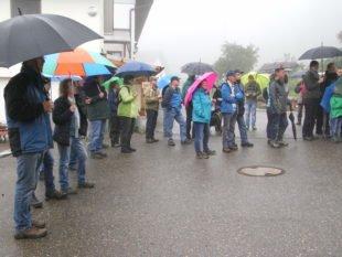Bürgerwehren Bad Peterstal und Oberharmersbach auf Wanderschaft