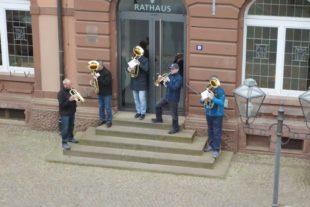 Zeller Musiker begrüßten den Mai