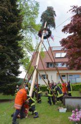 Dorfhock zum Maibaumstellen