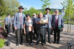 Helmut Lehmann feierte am ersten Mai sein 80. Wiegenfest
