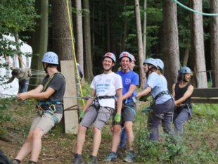 Jugendliche lebten ein paar Tage in Bäumen