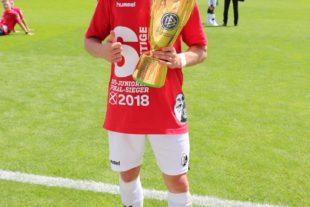 Zeller Enzo Leopold holt mit dem SC Freiburg den DFB-Junioren-Pokal