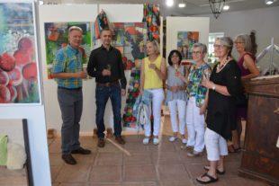 Kunstwerke, Stoffe und Räume im Schwarzwaldstil