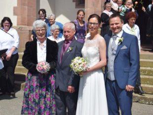 Hochzeit und Goldhochzeit gefeiert