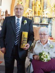 Alfred und Hedwig Vögele feierten das Fest der diamantenen Hochzeit