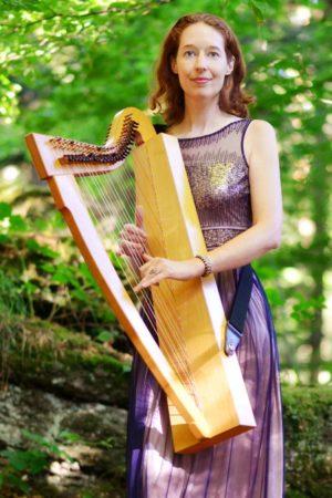 »Zeller Sommermusik« startet mit Harfenspiel