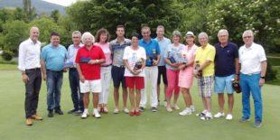 James Birkner überzeugte beim Golf-Bierturnier am Gröbernhof
