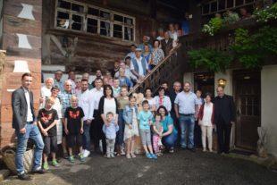 Annemarie Laifer feierte ihren 80. Geburtstag auf dem Mühlstein