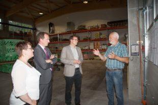 Antrittsbesuch von Volker Schebesta bei Bürgermeister Weith