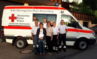 Unterstützung für die Helfer vor Ort