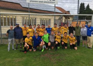 B-Junioren sichern sich die Meisterschaft in der Bezirksliga und steigen in die Landesliga auf