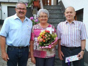 Glückwünsche der Musik für  Erich Killig zum 80. Geburtstag