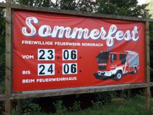 Sommerfest der Feuerwehr Nordrach