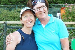 Die Sonne strahlte für die Mädels 40 des Tennisclub Zell 2005