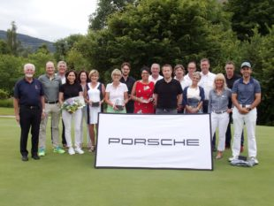 Überragender Daniel Groß beim Porsche Golf Turnier
