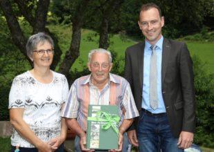 Rüstiger Jubilar Jakob Lehmann feiert seinen 90. Geburtstag