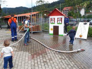 Nordrach feierte sein Feuerwehrfest