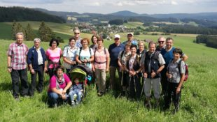 Schwarzwaldverein Nordrach umwanderte Breitnau