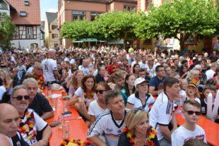 Großes Fußballfest auf dem Kanzleiplatz – leider ohne Happy End