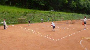 TC Nordrach: Kostenloses Tennistraining für Anfänger