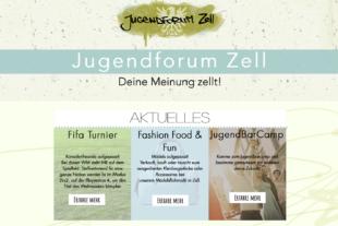 Zells Jugend hat nun eine Website