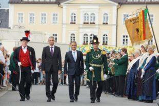 »800 Jahre Frauenstein« – die Partnerstadt Zell gratuliert!