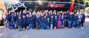 Eine Busladung »Städtlehomberle« eroberte den Freizeitpark Tripsdrill