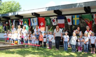 Viel Spaß beim Kindergartenfest der »Kleinen Wolke«: