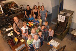 »Wackelzähne« vom Kindergarten Haslach machten Ausflug nach Zell