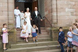 Hochzeit und Taufe in der Pfarrkirche gefeiert