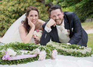 Christina und Stefan Goletz  feierten Hochzeit in Baiersbronn