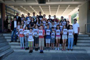 40 Preisträger am Bildungszentrum im Europäischen Wettbewerb