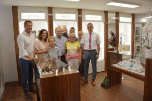 Juwelier Schmider feierte Eröffnung