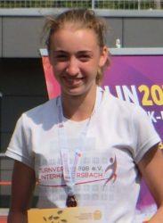 Anne Kling lief persönliche Bestzeit über 200 Meter