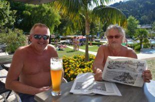 Sommer, Sonne, Schwimmbad und das Neueste aus der »Schwarzwälder Post«