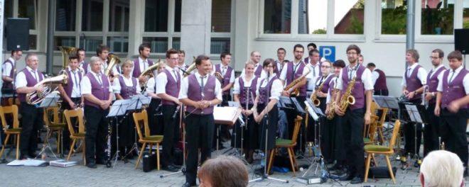 Hock mit dem Musikverein Unterentersbach