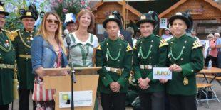 JuKu fördert die Bürgerwehr-Jugend