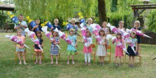 Schulanfänger feierten Abschied von der »Kleinen Wolke«