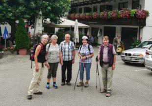 Wanderung bei Oberkirch mit Abstecher zur Fatima-Kapelle