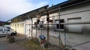 ZFV-Clubheim soll beim Jubiläum in neuem Glanz erstrahlen