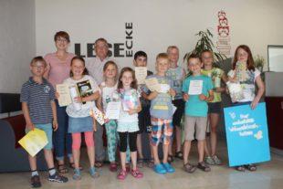 Schüler der Brandenkopf-Schule präsentierten ihre Lieblingsbücher