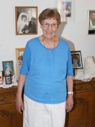 Anna Heitzmann feiert heute 80. Geburtstag