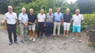 Ehrhard Groß lud zum Golfturnier