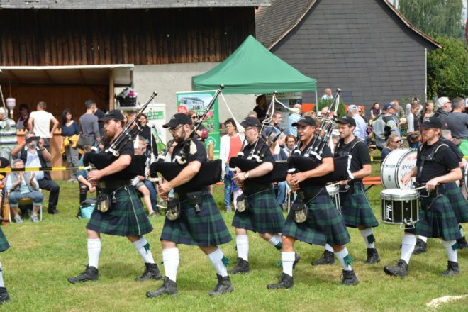 Sommerfest mit Highlandgames