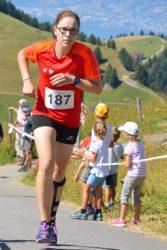 Franziska Schmieder feiert Sieg am Rigi